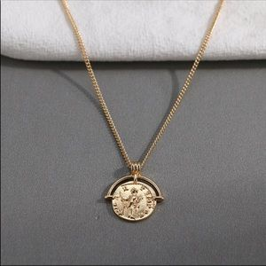 ⚡️ Roman Style Antique Coin Charm Necklaces